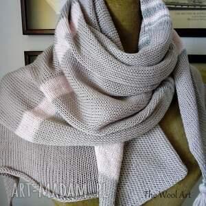 ręcznie robione szaliki szal letni
