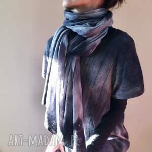 dzianina szaliki miękki ciepły wełniany szal