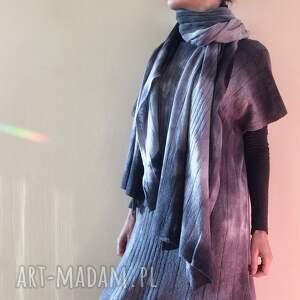 wyjątkowe szaliki szal miękki ciepły wełniany