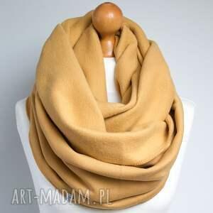 handmade szaliki komin gruby zimowy bawełniany. jest