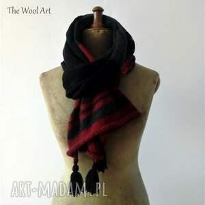 ręcznie robione szaliki szal