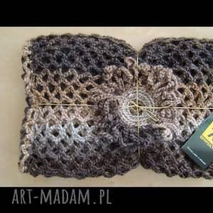 ręcznie robione szaliki szal ażurowy - różne kolory