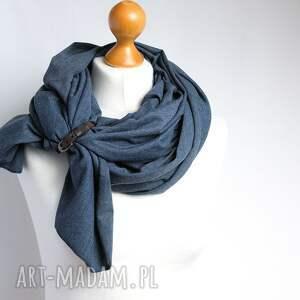 modne szaliki szal bawełniany, chusta uniwersalna
