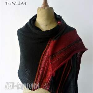 ręcznie robione szaliki szalik szal