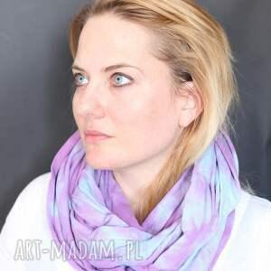 handmade szaliki szal utaplany po pachy za pomoca