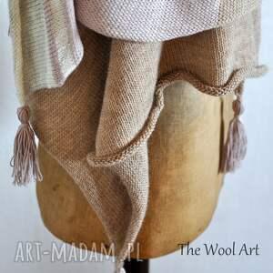 urokliwe szaliki letni wełniany szal