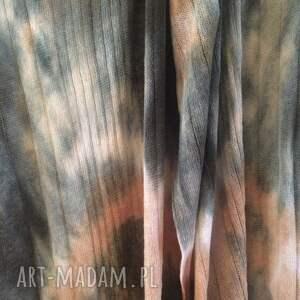 prezent szaliki wełniany szal kora brzozy