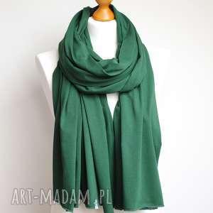 handmade szaliki szal wiosenny bawełniany, szalik