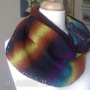 handmade szaliki rękodzieło z myślą o zimie unisex