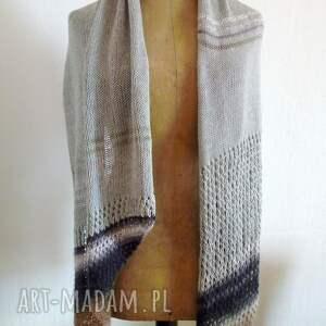 hand-made szaliki szal zwiewny