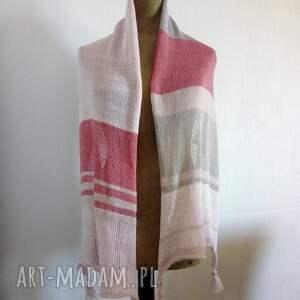 ręcznie zrobione szaliki szal zwiewny