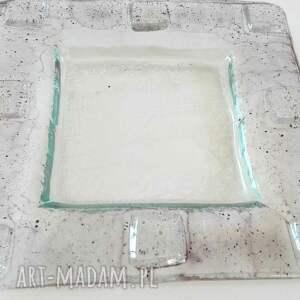szkło patery szklana patera w technice fusingu