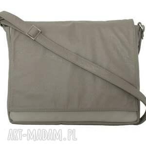 teczki torebki 35-0005 beżowa torebka aktówka