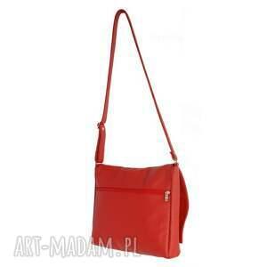 damskie teczki 35 -0007 czerwona torebka aktówka