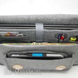 teczki teczka filcowa torba na ramię laptopa