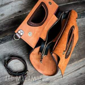 Ladybuq Art Studio na święta prezent skórzana torebka idealna do pracy