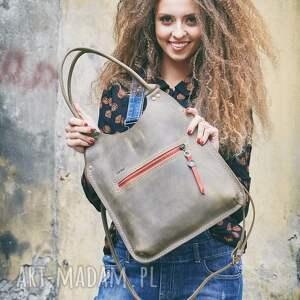 torba damska teczki mała oryginalna torebka w kolorze