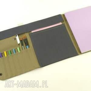 hand-made teczki organizer cosmic dust p&grey b5/a4