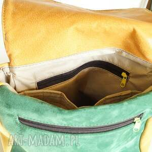 skóra teczki plecak/teczka