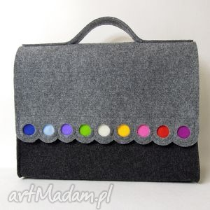 laptop kolorowe teczka filcowa na laptopa