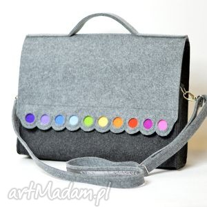 modne teczki filc torba na laptopa 15,6. filcowa