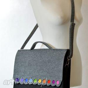 kolorowe teczki filc torba na laptopa 15,6. filcowa