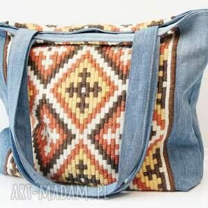 haft torebki w stylu boho