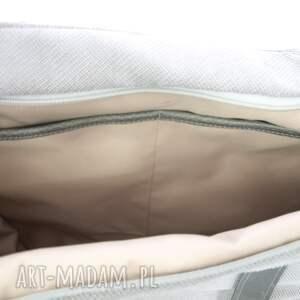 torebki torebka duża jasnoszarobeżowa torba na
