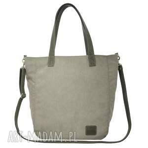 torebki torba duża jasnoszarobeżowa na