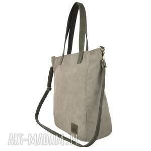 torebki torebka duża jasnoszarobeżowa torba