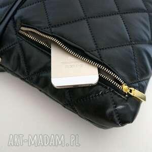 torebki listonoszka duża damska pikowana