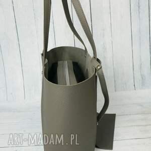 torba torebki szare duża worek manzana xxl 3w1