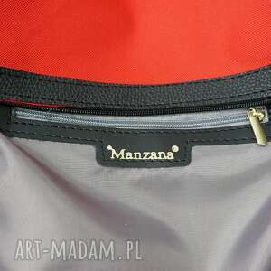 niekonwencjonalne torebki damska duża torba worek manzana xxl 3w1
