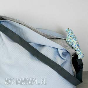 59b1cc627caf0 niebieskie torebki pianka duża torba miejska. błękitna ...