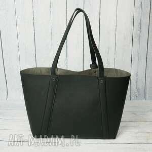 damska torebki duża torba worek manzana xxl 3w1