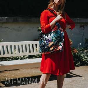 torebki kolorowa torebka na ramię fantastyczna w egzotyczny