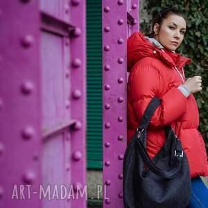 worek torebki grafitowa torba w kształcie łódki