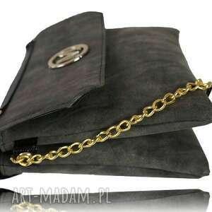 handmade torebki listonoszka manzana na łańcuszku