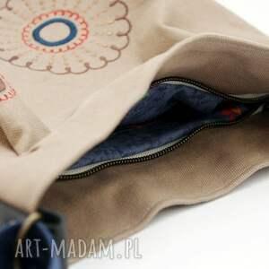 torebki bawełniana z haftem