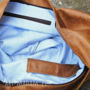 frapujące torebki torba hobo classic (na skos) brown sugar