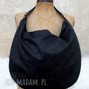 handmade torebki torba wielka hobo xxl wymiary (rozłożona