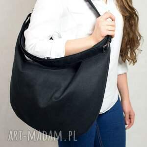 ręcznie robione torebki torba hobo true colors black