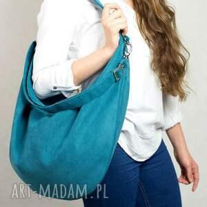 torba torebki zielone hobo xxl true colors... - turkus