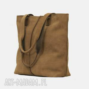 torebki torba jasno brązowa ze skóry