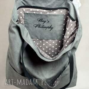 szare torebki torba kangoo l g. the grey