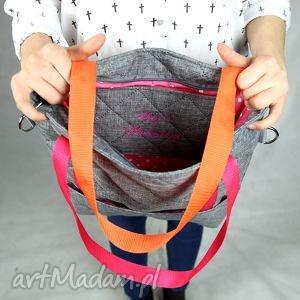 niepowtarzalne torebki torba kangoo s sir elton pink/orange