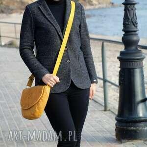 torebki torebka klasyczna żółta listonoszka