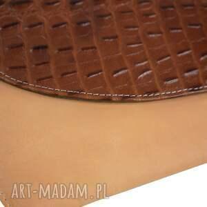 torebki: kopertówka manzana skóra naturalna uszyta tylko 1 sztuka edycja limitowana torebka