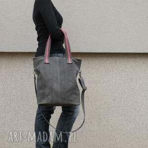 hand made torebki torebka lekka, gustowna skórzana torba