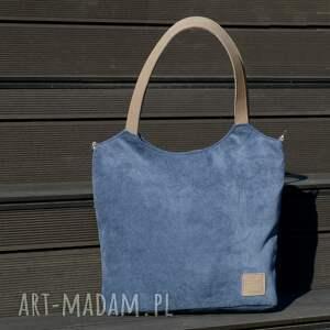 torebki torebka lekka i poręczna granatowa torba